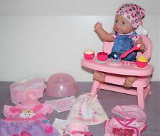 Baby Born Mädchen Soft Touch v. Zapf, 43 cm mit viel schönem Zubehör