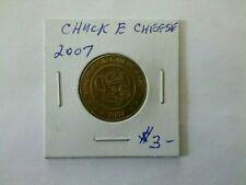 Chuck E Cheese 2007 Medallion