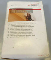 EGGER Clipstar inkl. Dübel & Schrauben 50 Stück Sockelleisten Clip Leistenclip
