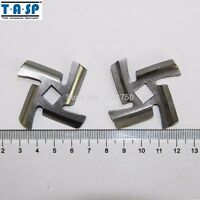 3PC mincer blade for Braun AMM12C-180 Vitek VT-1672 Scarlett SC-149 MK-G1800WTR