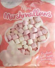Betty Winters Mini Marshmallows Pink & White Vanilla flavour Home Baking 100g