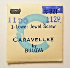 Part #112P - Lower Jewel Screw Bulova Caravelle 11Do Factory Replacement Watch