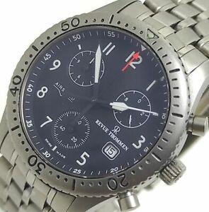 Revue Thommen Airspeed Titanium 16001.9 Chronograph Men's Wristwatch