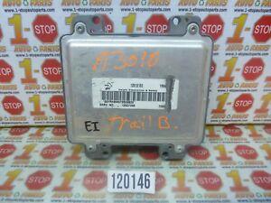 22008 08 CHEVROLET TRAILBLAZER ENGINE COMPUTER MODULE ECU ECM 12607096 YRHB OEM