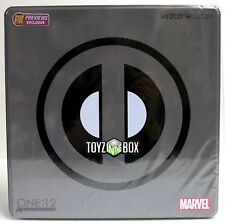 In STOCK Mezco One 12 Marvel X-Force Deadpool PX Action Figure