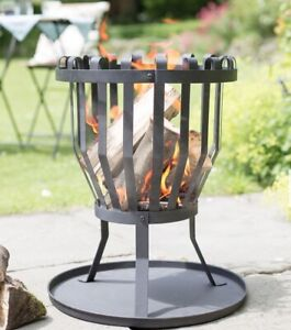 🔥 La Hacienda Traditional Steel Fire Basket - BRAND NEW 🔥 FAST DISPATCH
