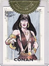 Conan Art of the Hyborian Age Warren Martineck / Belit SketchaFEX Sketch Card