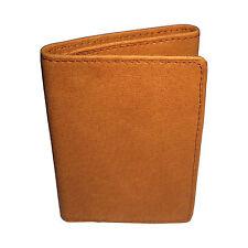Men's Wallet Tri-Fold (Tan - Light Brown)