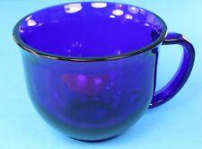Cobalt Blue Anchor Hocking Glass 4 inch Mug EXCELLENT CONDITION