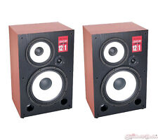 DJ Tech CENTURY121 3-way Loudspeaker w/ Detachable Grille & 12-in Woofer - Pair