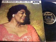 LP  ELLA FITZGERALD AND CHICK WEBB.brunswick 87 501