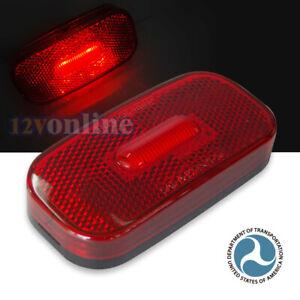 12V LED Clearance Lights RV Trailer Campervan Truck LED Side Marker Red Lights