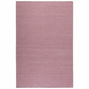 Weconhome Rainbow Kelim Rugs 7708 09 by Esprit in Antique Pink Plain Cotton Mats
