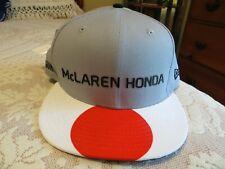 NWT Men's New Era  McLaren HONDA Japan RACING Formula 1 Hat Grand Prix NEW!