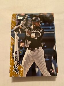 2020 Topps Complete Gold Star Parallel Team Set Chicago White Sox