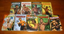 Tarzan Archive Volumes 1,3,4,5,6,7,8,9,10 The Jesse Marsh Years SEALED, DELL