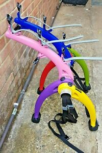 Saris Bones 3 Bike Rack RARE Bright Multi Colourful (used only once)