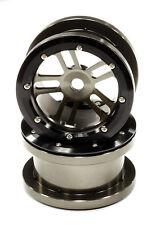 4 CERCHI LEGA alluminio 2.2 BEADLOCK ESAGONO 12MM integy scaler crawler axial gu