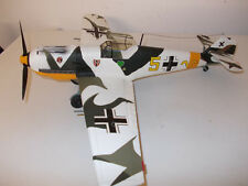 Me 109 E Gelbe 5 Teufelskopf - Wintertarn - Top Zustand - in  1:18 - Ultrarar !!