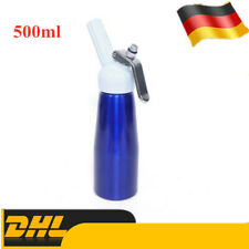 0,5l Cream Whipper Whipped Dispenser Kanister Kuchen Dessert Kaffee Schaum Maker