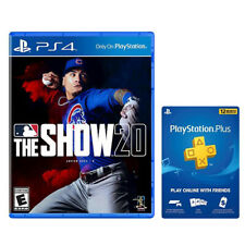 MLB The Show 20 for PS4+PlayStation Plus 12 Month Membership (Email Delivery)