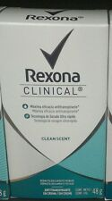 REXONA WOMEN'S CLINICAL CLEAN SCENT DEODORANT -SECA ULTRA RAPIDO -48g -FREE SHIP