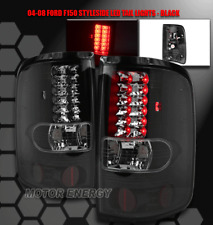 2004 2005 2006 2007 2008 FORD F-150 XLT STX FX4 LED TAIL BRAKE LIGHTS LAMP BLACK