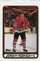JEREMY ROENICK 1990-91 Topps ROOKIE CARD RC #7  Chicago Blackhawks