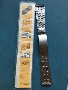 The last Rare Band Bracelet VOSTOK KOMANDIRSKIE or AMPHIBIAN 18mm NOS