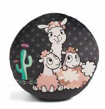 Nici 45411 Pillow Lama-Baby Cloudi Round Approx. 28cm Plush