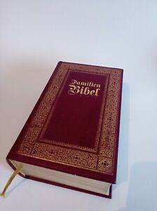 Familienbibel, Bibel, Naumann & Göbel,mit Goldschnitt,Familienchronik