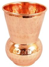 1 Pcs Hammered Pure Copper Indian Handmade Glass Drinking Water