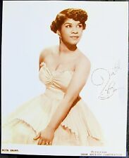 BLUES R&B 1950s PUBLICITY PHOTO PRINT: RUTH BROWN (#1) Shaw Artists Corporation