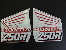 1989 HONDA CR 250 RADIATOR SHROUD DECAL KIT