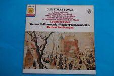 "HERBERT VON KARAJAN "" CHRISTMAS SONGS""LEONTYNE PRICE VIENNA PHILHARRMONIC LP NUO"