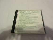 Promo Not for Resale Elton John CD Excerpts From To Be Continued TL25C RARE BIN