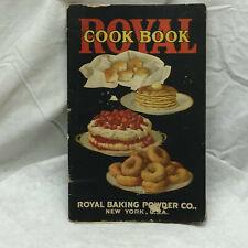 Vintage 1925 Royal Baking Powder Co. Cookbook
