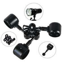 38mm Rotate Diving Light Butterfly-type Clamp Clip + Ball Adapter For Gopro Hero