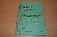 Ersatzteile Bosch Schwung - Lichtanlaßbatteriezünder AZ EVE 224/6