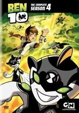 Ben 10 Season 4 R4 DVD The Complete Fourth & Final Series Four