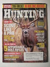 Petersen's Hunting Magazine August 2006. Deer Hunting Muzzleloaders Black Powder