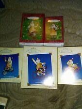 Lot Of 5 Hallmark Keepsake Toy Maker Santa Series Number 1 2 3 4 & 6
