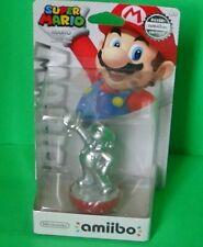 Silver Nintendo Super Mario Silver Amiibo Brand New