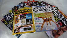 AMERICAN WOODWORKER  Lot 20 Woodworking Router 2006-2012  Furniture Shop Tips