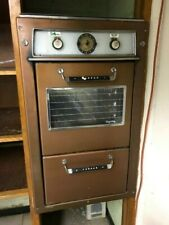 Vintage Tappan Electric Visualite Double Wall Oven Works Very Retro!