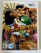 Nintendo Wii Punch-Out Boxing Video Game Original Version NEW Factory Sealed HTF