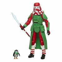 Star Wars The Black Series Holiday Edition Snowtrooper with PORG