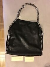Stella Mc Cartney Falabella Bag Black Silver Hardware