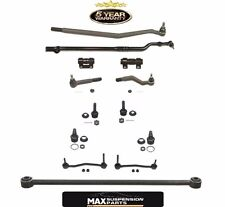 Excursion F350 F250 4x4 Super Drag Link Tie Rod Sleeve Ball Joint 13 Piece Kit