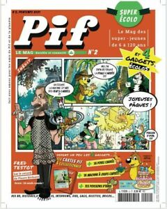 PIF GADGET - Le Mag Magazine Écolo - N°2 - 31 mars 2021 - Neuf !!!!